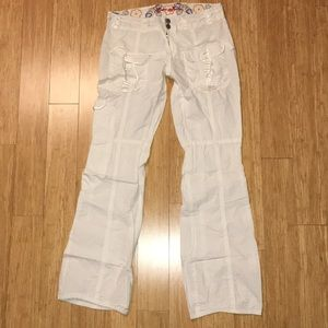 Guess jeans White pants